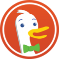 DuckDuckGo Search and Stories icon